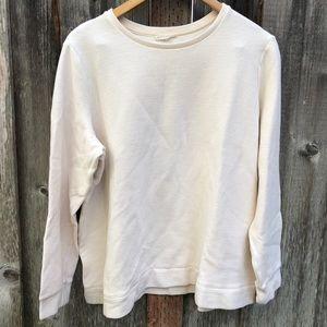 Eileen Fisher White Crew neck Sweater